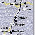 Saorge, Vallée de la Roya, Alpes Maritimes
