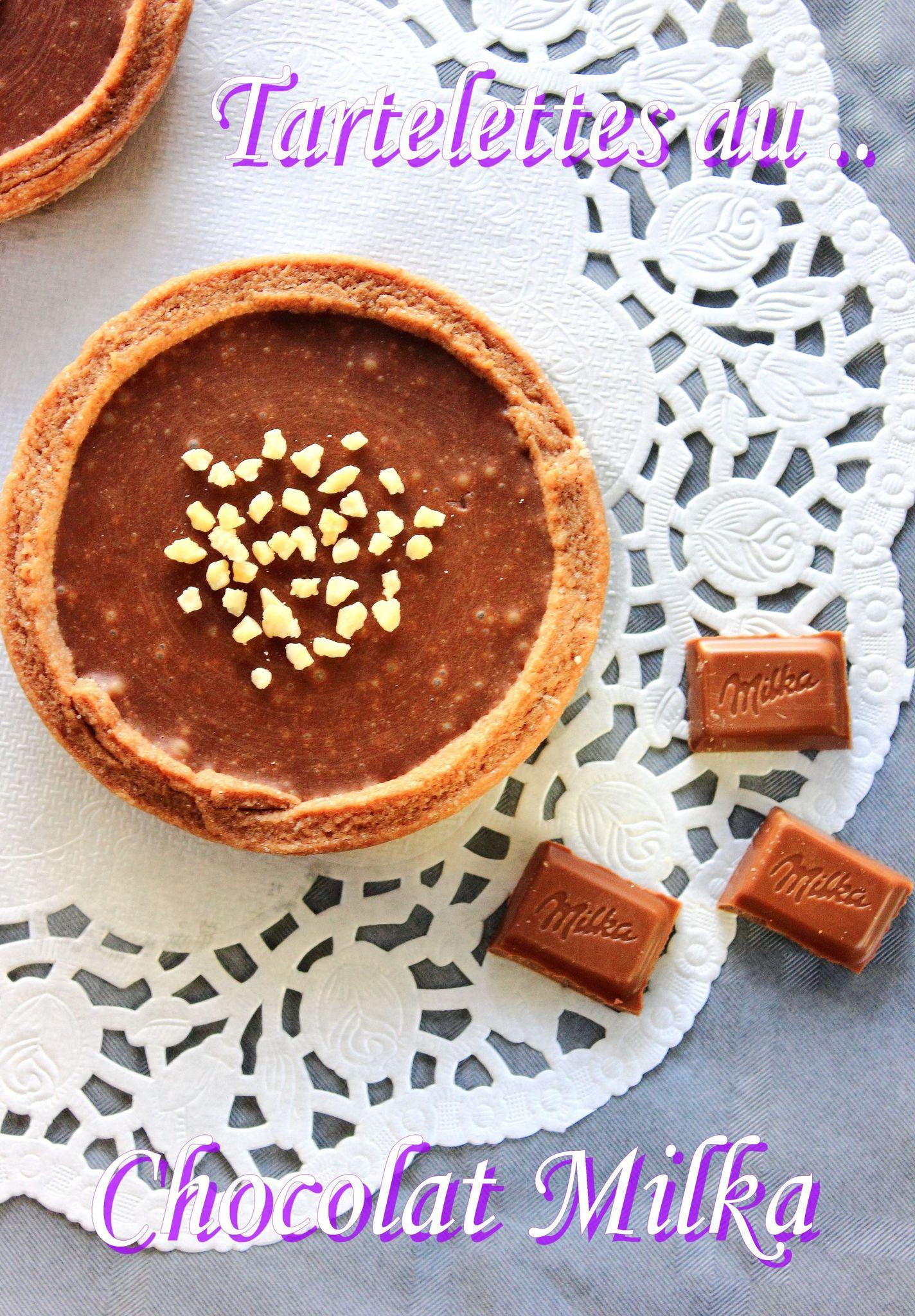 Tartelettes au chocolat Milka4