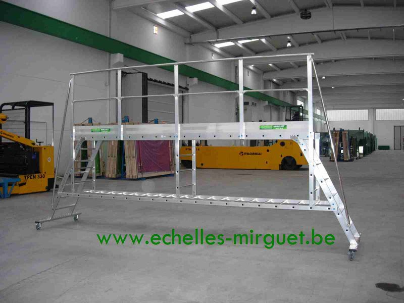 Passerelle fabrication speciale 1