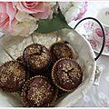 Muffins choco-coco veggie