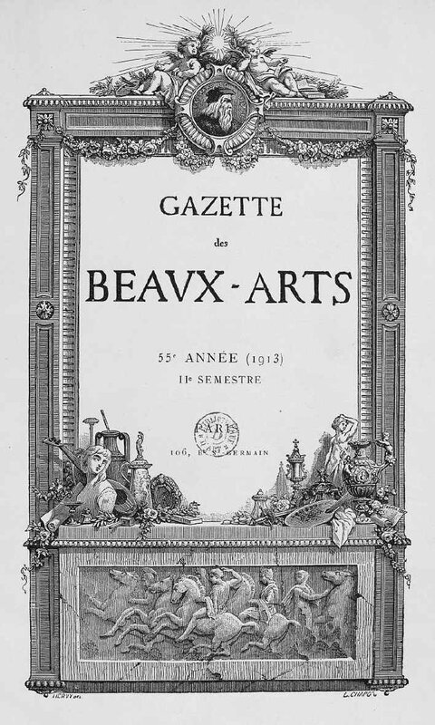 Gazette de beaux arts