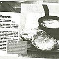 cuisine des dentellières