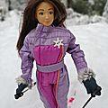 Lammily at winter sports