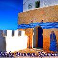 Ruelle de la ville d'Assilah
