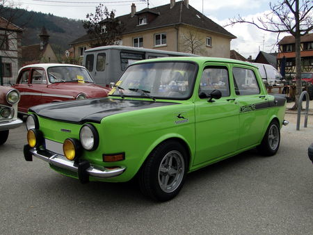 SIMCA 1000 Rallye 2 1972 1977 Bourse Echanges Autos Motos de Chatenois 2010 1