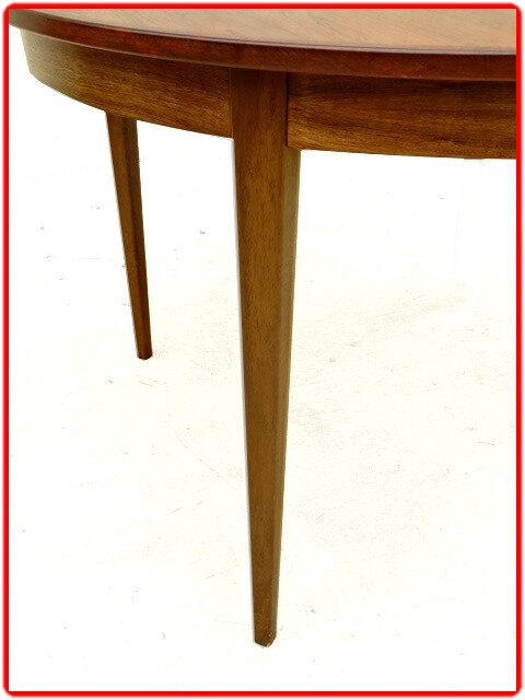 table design scandinave palissandre