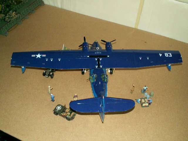 maquette du PBY- CATALINA (version 1948) (11)