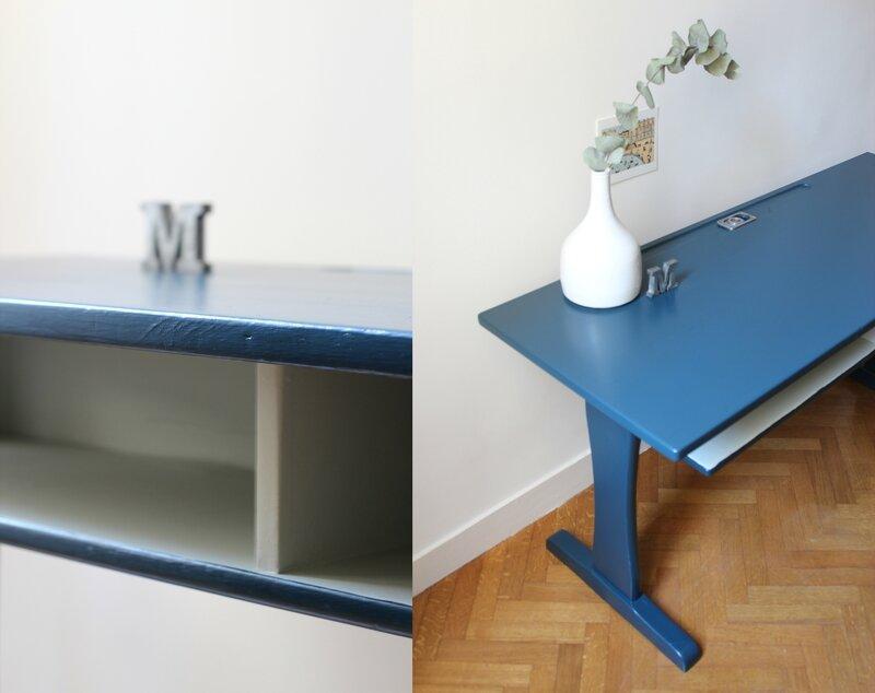 bureau Casala enfant années 60 bleu nuit Marseille TRENDY LITTLE 3