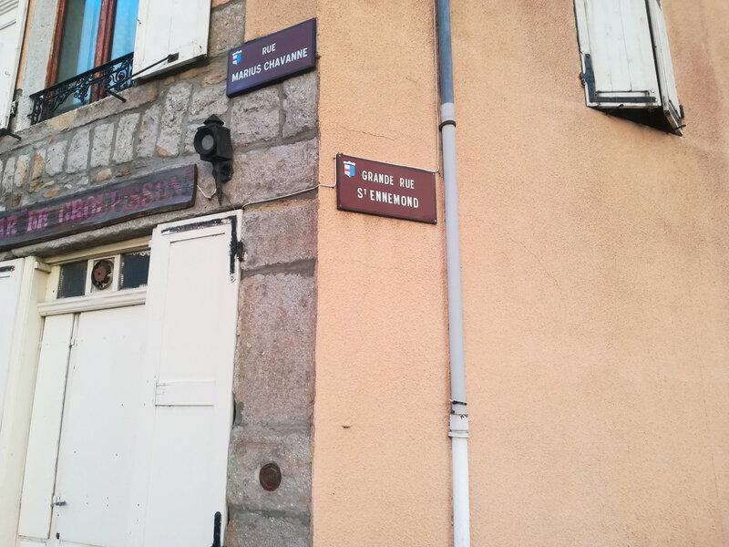 angle rue Marius Chavanne et Grande rue de Saint-Ennemond (2)