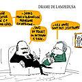 Lampedusa , misère et drame