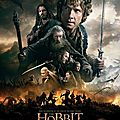 Nouvelle affiche the hobbit : the battle of the five armies