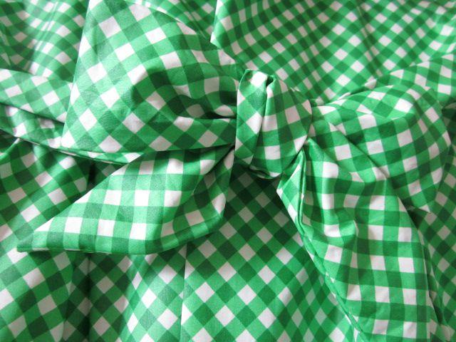 Ciré vichy vert et blanc (5)