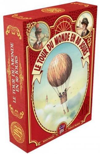 Boutique jeux de société - Pontivy - morbihan - ludis factory - Tour du monde en 80 jours