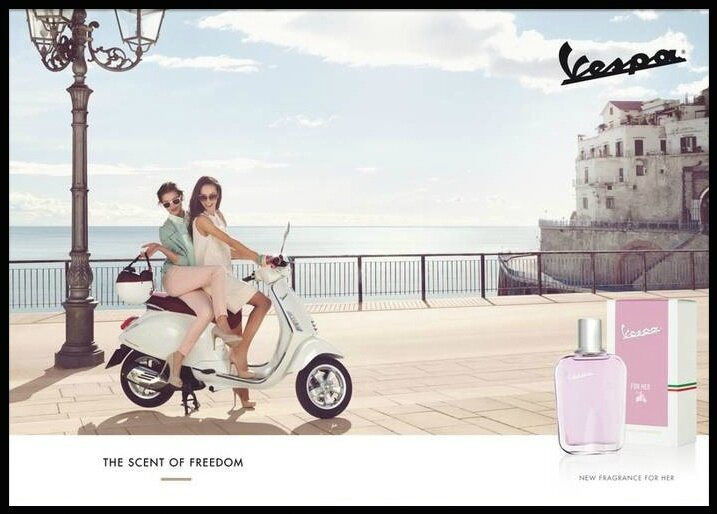 coty vespa for her 2