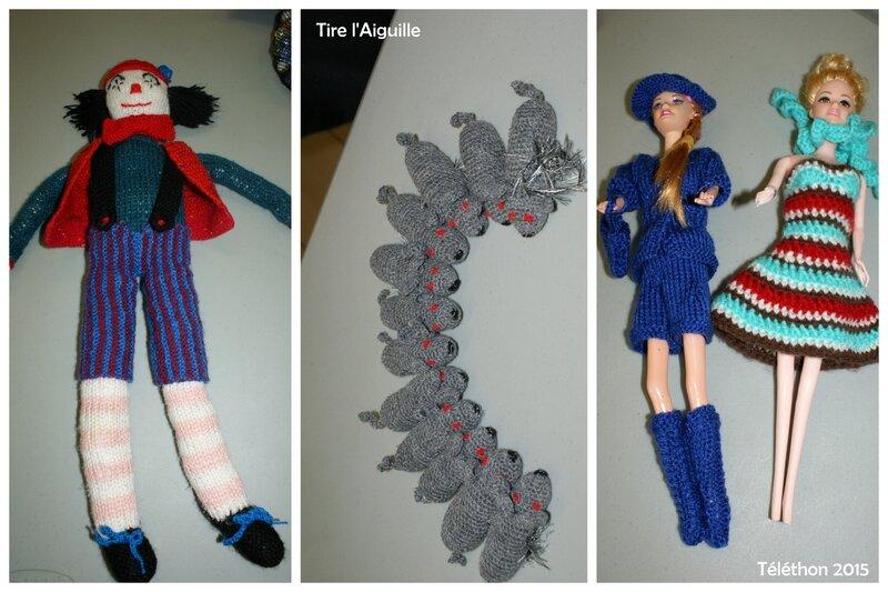 Téléthon 2015 - Tricot crochet