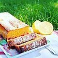 Cake estival aux framboises et citron