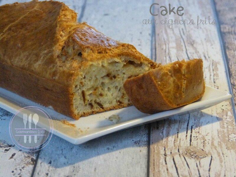 Cake aux oignons frits (7)