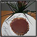 Tartelette bounty