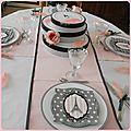 Table chapeautée !