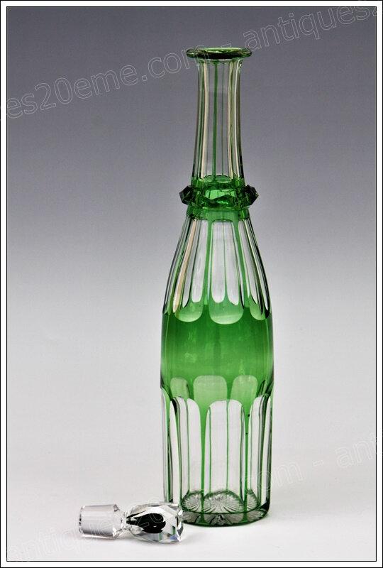 Rarissime carafe cristal Baccarat Johannisberg