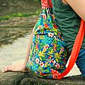 proposé par Couture : Des sacs de plage pour enfants - le coffre de Scrat et Gloewen, couture, lecture, DIY, illustrations...