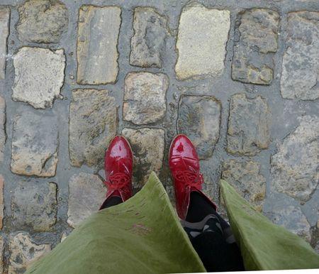 pluie rouge