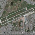 Photo satellite Google earth. Base Tan son Nhat