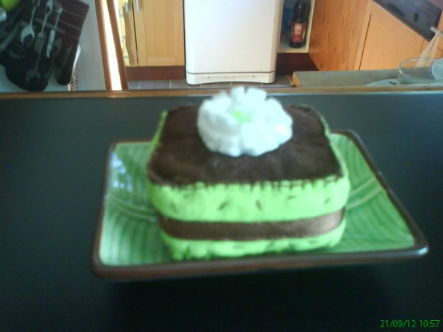 mousse menthe-choco