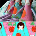 Spoonflower doll panels.