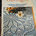 Ancien magazine de crochet dentelle et tricot d'art mise à jour dispo