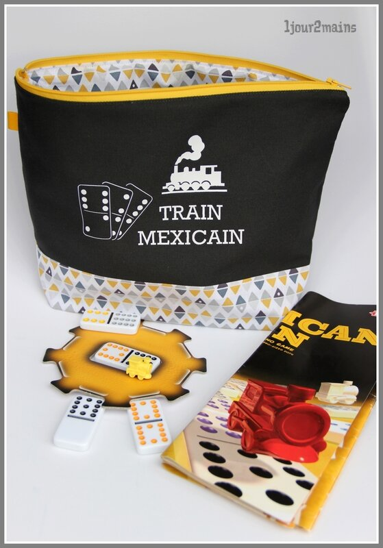 trousse train mexicain