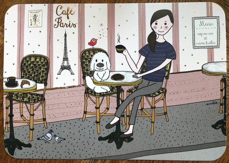ameliebiggslaffaiteur_cartesdart_paris_fille_cafe_chien