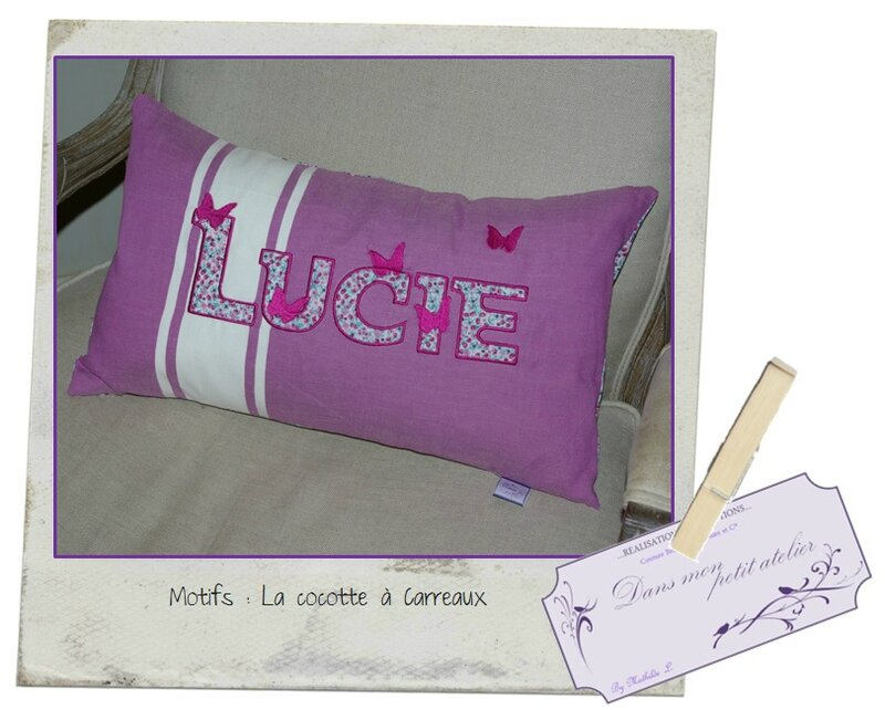 Coussin Lucie