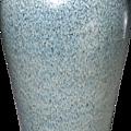 Vase meiping à glaçure bleu clair, Dynastie Yuan, Pékin, Musée de la Cité interdite © The Palace Museum