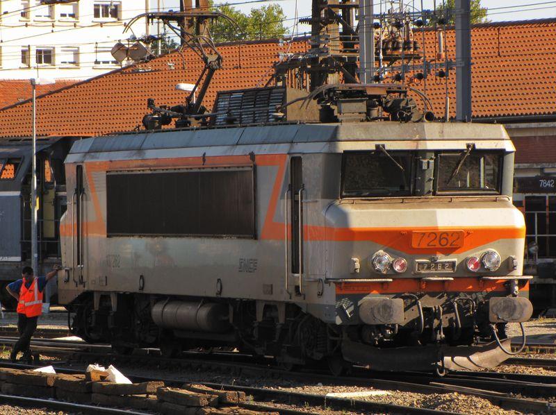 BB 7262, dépôt de Toulouse