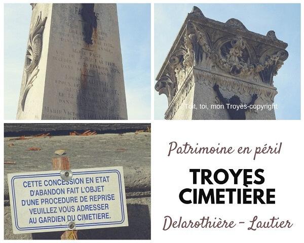 TROYES Cimetière_les chapelles en péril_Famille Delarothière