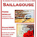 affiche expo Saillagouse 2020