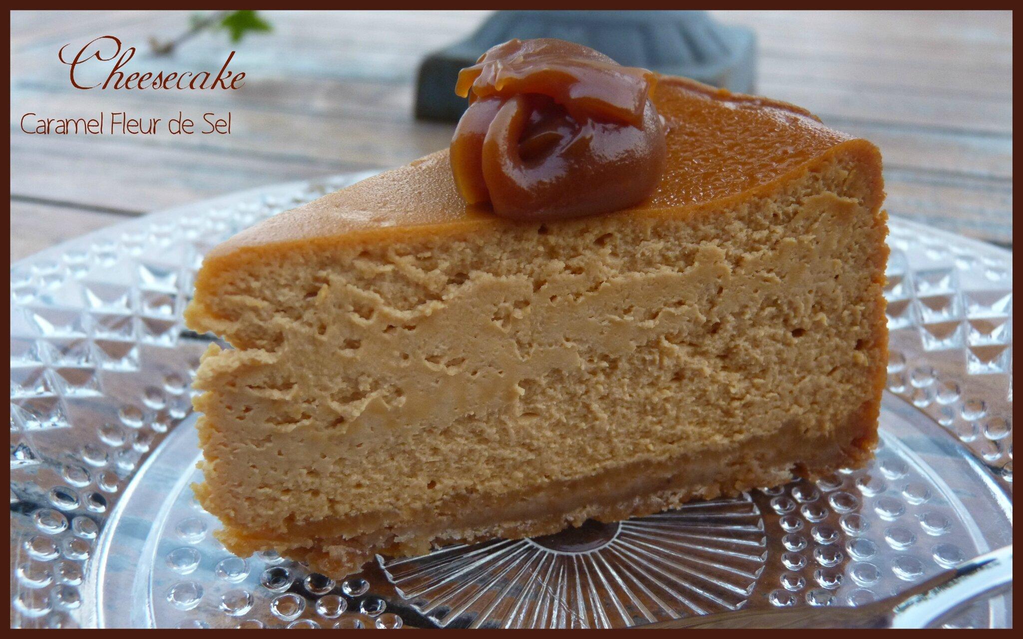 cheesecake caramel fleur de sel