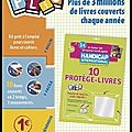 Kit plio- couverture livres & cahiers - handicap international