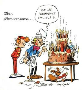 Le chat geluck anniversaire image