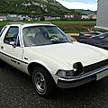 American motors pacer x hatchback 3door sedan 1975-1977