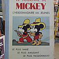 Journal de mickey avant guerre, album n° 3, n° 105 à 156 - 1936