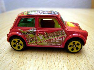Austin mini morris 03 -Hotwheels- (2000)