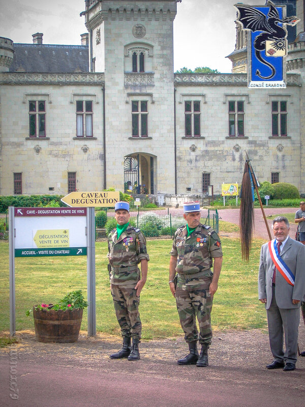 2e régiment de dragons Fontevraud l'Abbaye (10)