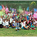 Easter color fun run