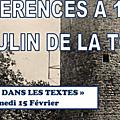 Conférence : le muy dans les textes