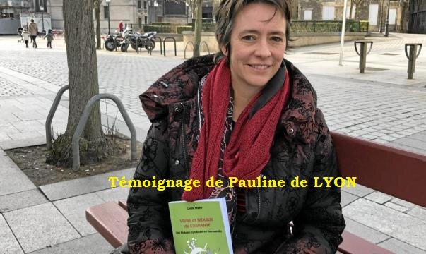 Témoignage de Pauline de LYON