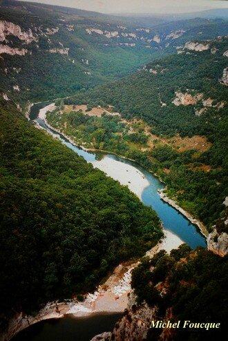 1263) Balade pédestre aux Gorges de l'Ardèche