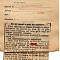 L'argus de la presse.1909.la lanterne.