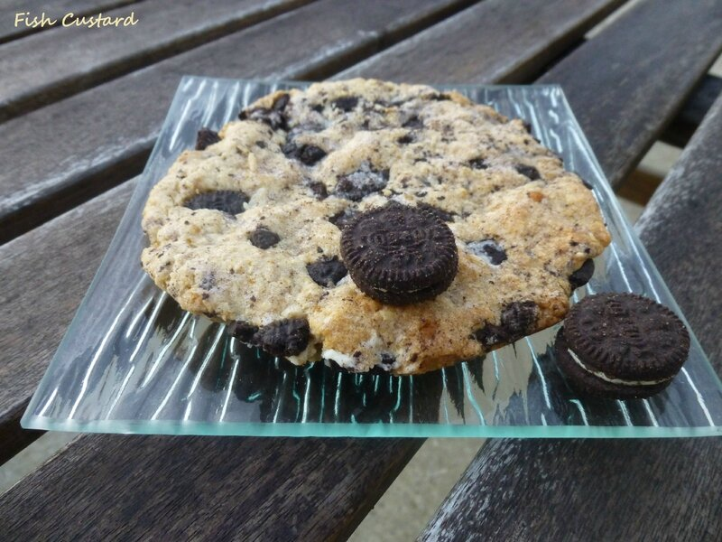 Maxi cookie aux Oreo (5)